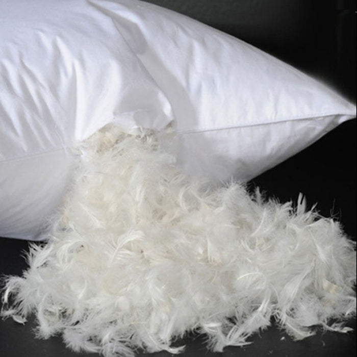 Duck Feather Pillows Twin Pack