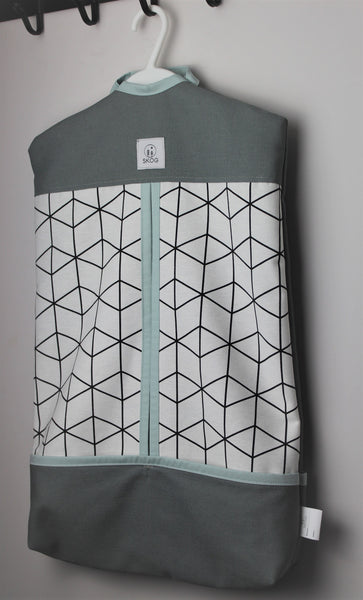 Ovis zsák - grey geometric