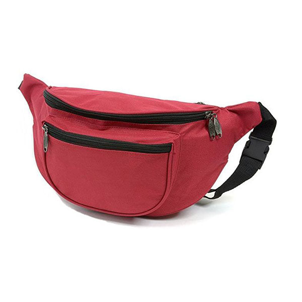 Trendy Two Pocket Fanny Pack