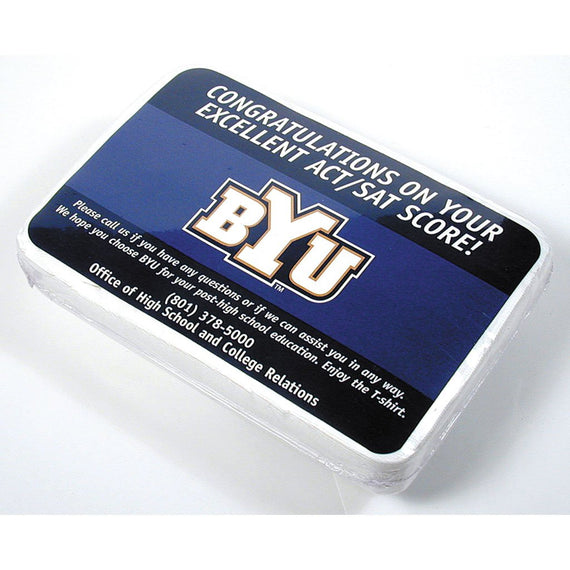 BYU Post Back Compressed T Shirt