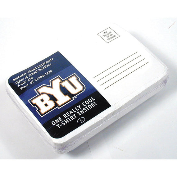 BYU Postcard Compressed T Shirt