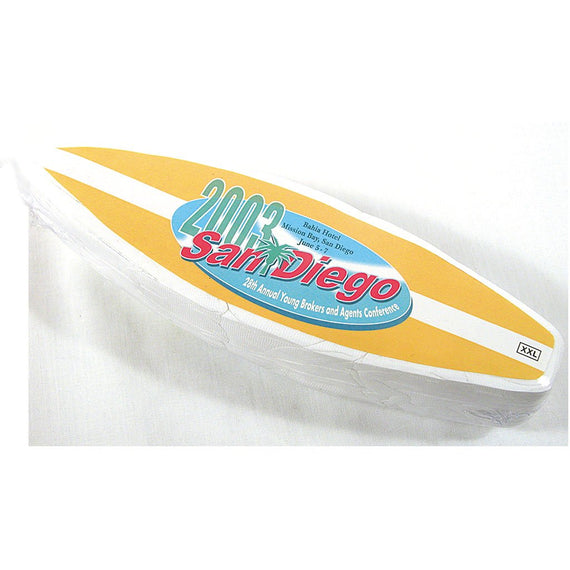 Surfboard San Diego Compressed T Shirt