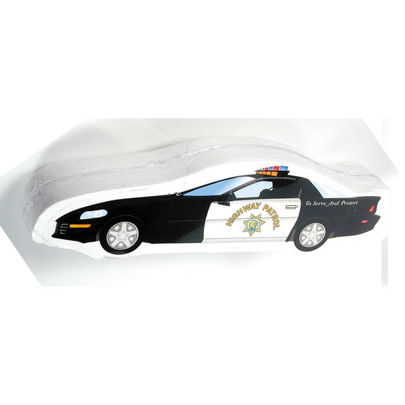 Police Car Compressed T Shirt