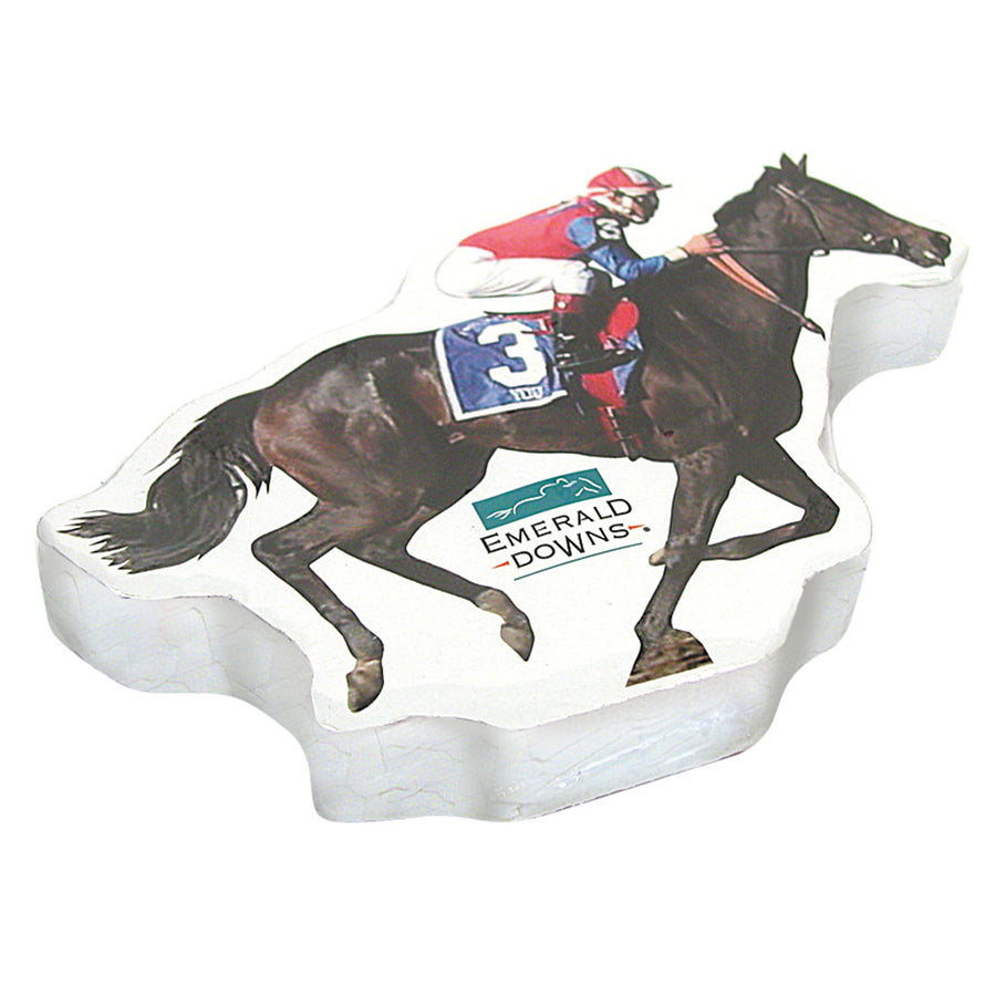 Race Horse Compressed T Shirt