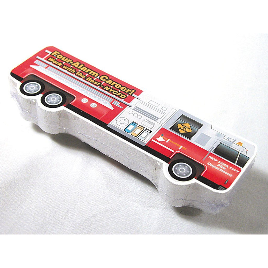 Fire Truck Compressed T Shirt