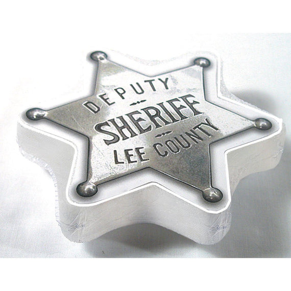Badge Sheriff Compressed T Shirt