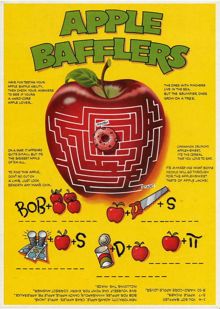 Apple Jacks c. 1985