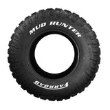 MUD HUNTER - Mud Terrain (MT) - White Letter - 35*12.50R18 123Q