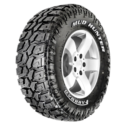MUD HUNTER - Mud Terrain (MT) - White Letter - LT265/75R16 123/120Q