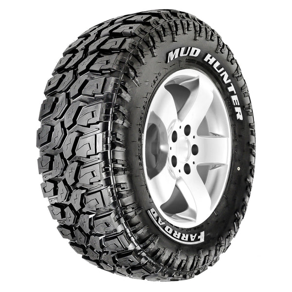 MUD HUNTER - Mud Terrain (MT) - White Letter - LT285/70R17 121/118Q