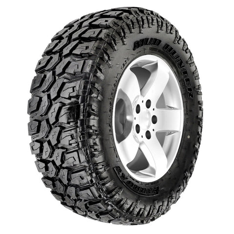 MUD HUNTER - Mud Terrain (MT) - Black Letter - 35*12.50R17LT 121Q 10PR