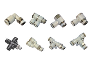 Push Lock Pneumatic Fittings