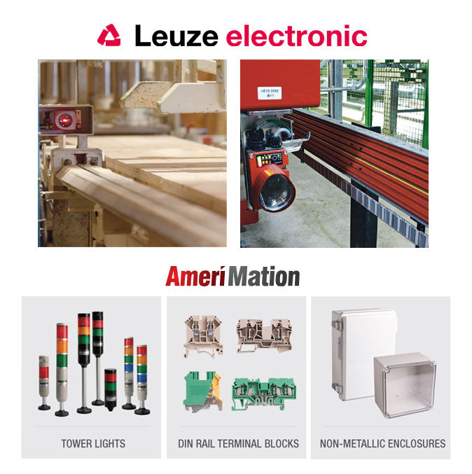 Shop now for industrial parts by Leuze electronic and Amerimation