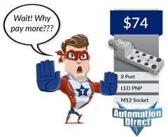 Why pay more with Automation Direct for an I/O system?