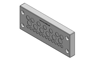 Icotek KEL-DPZ 24|25 gy: Cable Entry Plate - 43710