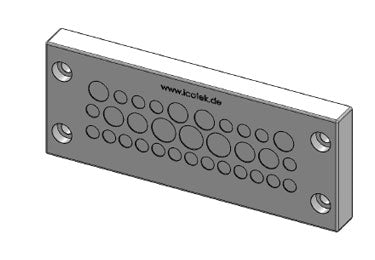 Icotek KEL-DPZ 24|32 gy: Cable Entry Plate - 43730