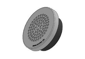 Icotek KEL-DPZ 50|78 gy: Round Cable Entry Plate - 43756