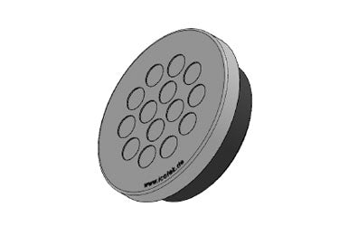 Icotek KEL-DPZ 63|14 gy: Round Cable Entry Plate - 43762