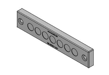 Icotek KEL-DPZ-E 112|7 gy: Cable Entry Plate - 43780