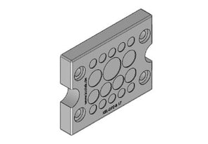 Icotek KEL-DPZ-B 17 gy: Cable Entry Plate - 43796