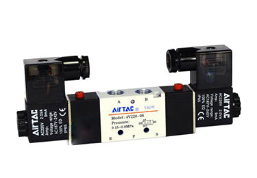Airtac 4V300: Solenoid Air Valve - 4V330E10FT