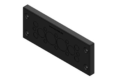 Icotek KEL-DPZ 24|16 bk: Cable Entry Plate - 50725