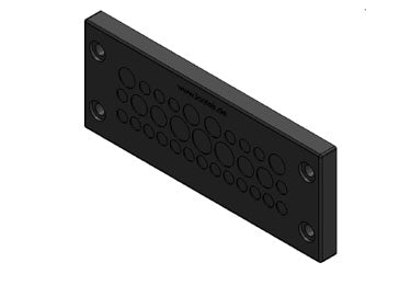 Icotek KEL-DPZ 24|32 bk: Cable Entry Plate - 50730