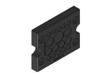 Icotek KEL-DPZ-B 17 bk: Cable Entry Plate (Overstock) - 50796
