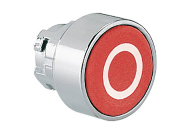 Lovato Electric: Pushbutton Actuator, Momentary, with Symbol, Flush - 8LM2TB1104