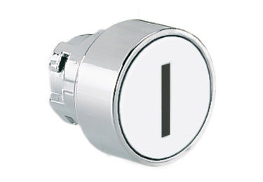 Lovato Electric: Pushbutton Actuator, Momentary, with Symbol, Flush - 8LM2TB1118