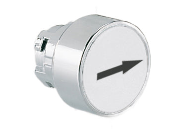 Lovato Electric: Pushbutton Actuator, Momentary, with Symbol, Flush - 8LM2TB1148