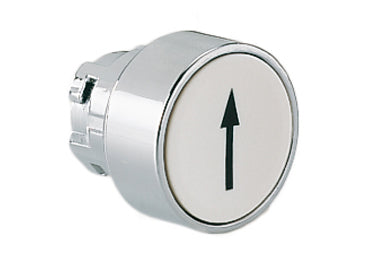 Lovato Electric: Pushbutton Actuator, Momentary, with Symbol, Flush - 8LM2TB1158