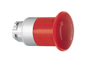 Lovato Electric: Mushroom Head Pushbutton Actuators, Latch, Turn to Release - 8LM2TB6644