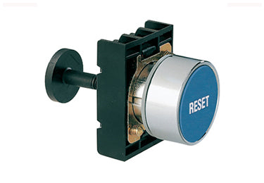 Lovato Electric: Mechanical Reset Buttons, Complete Unit, Momentary, Flush - 8LM2TR1196