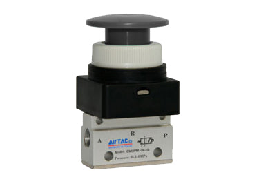Airtac CM3: Control Valve, 3/2 Way - CM3PM06BT