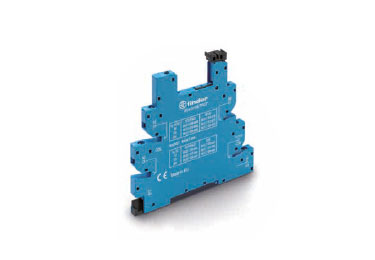 Finder Series 93: Ultra-Slim Base/Socket for 34 Series Relay - 93.66.7.024