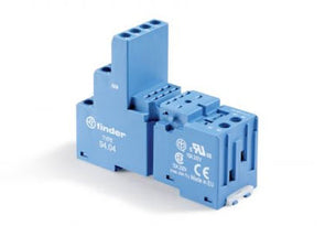 Finder Series 94: Base/Socket for 55 and 85 Series Relay - 94.74SMA