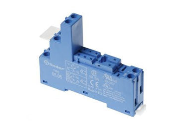 Finder Series 95: Base/Socket for 40, 41, 43, 44 Series Relay - 95.55.3SPA