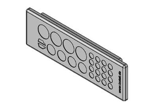 Icotek KEL-DP 24|26 A gy: Cable Entry Plate - 43518