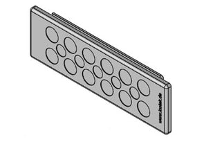 Icotek KEL-DP 24|17 B gy: Cable Entry Plate - 43523
