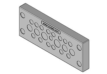 Icotek KEL-DPU 24|21 gy: Cable Entry Plate (Overstock) - 43930