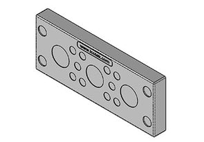 Icotek KEL-DPU 24|13 gy: Cable Entry Plate (Overstock) - 43940