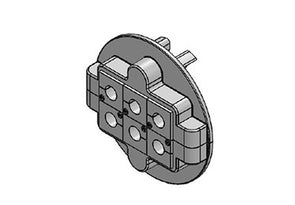Icotek KVT 80|6 gy: Split Cable Glands - 45237