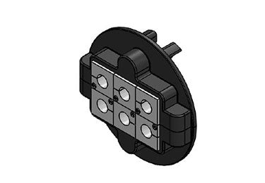 Icotek KVT 80|6 bk: Split Cable Glands - 45238