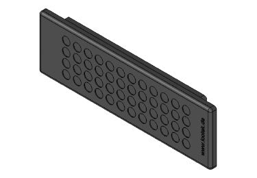 Icotek KEL-DP 24|48 A bk: Cable Entry Plate - 50519
