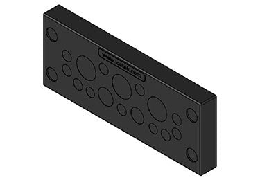 Icotek KEL-DPU 24|16 bk: Cable Entry Plate - 50932