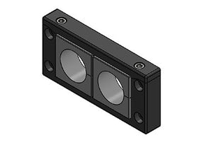 Icotek KEL-U 16|2 V2A: Cable Entry Frame - 54162.200