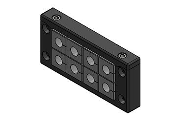 Icotek KEL-U 16|8 V2A: Cable Entry Frame - 54168.200
