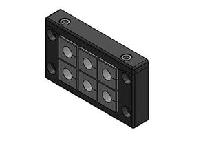Icotek KEL-U 10|6 V2A: Cable Entry Frame - 54216.200