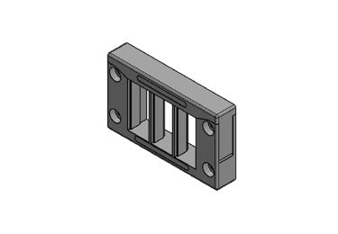 Icotek KEL-QUICK 10|6: Cable Entry Frame - 42420